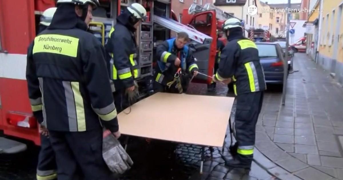 Nürnberg Brand Heute